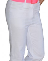 Women Trousers - White - 1024