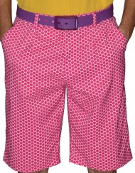 Short Pants - Fushia - Front